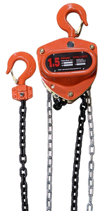 Chain Hoist - Vitali-Intl®, 1.5 Tonne,  40ft x 1 Fall