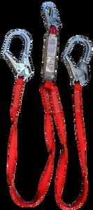 3M™ Protecta® - PRO™ Pack 100% Tie-Off Shock Absorbing Double Leg Rebar Lanyard, 6ft