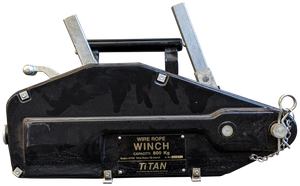 Wire Rope Hand Winch -  800kg Capacity