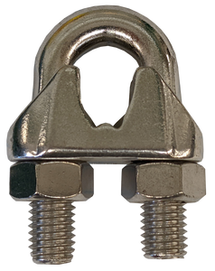 """Wire Rope Clip - Stainless Steel, 1/2"""""""