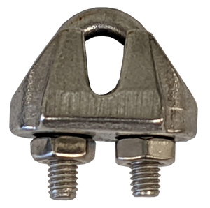 """Wire Rope Clip - Stainless Steel, 1/16"""""""
