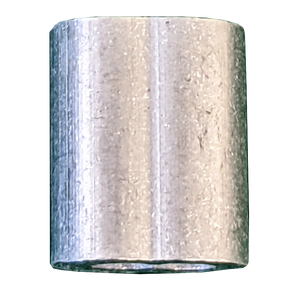 "Aluminum Hourglass Sleeve - 3/32"""