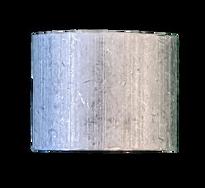"Stop Sleeve - Aluminum 3/16"""