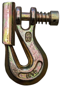 """Clevis Grab Hook with Latch - Gr70, 5/16"""""""
