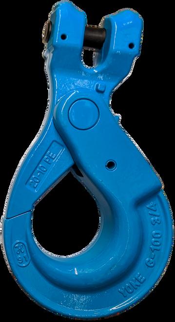 "Self-Locking Clevis Hook - 3/4"", Gr 100 Extreme"