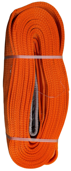 Tow Strap - Orange, 12 inch x 50ft, 192,000 LBS