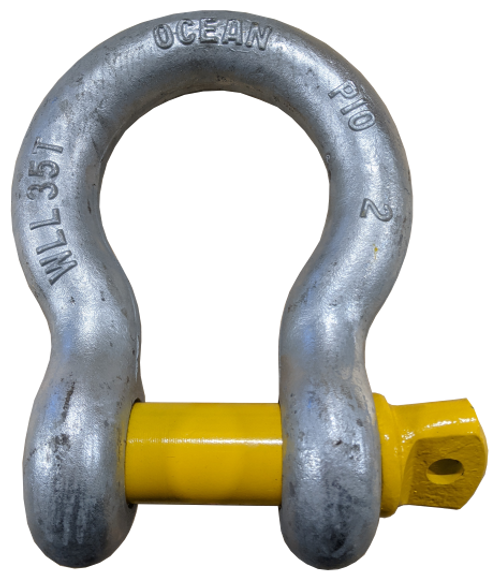 Shackle - Screw Pin, 2 inch