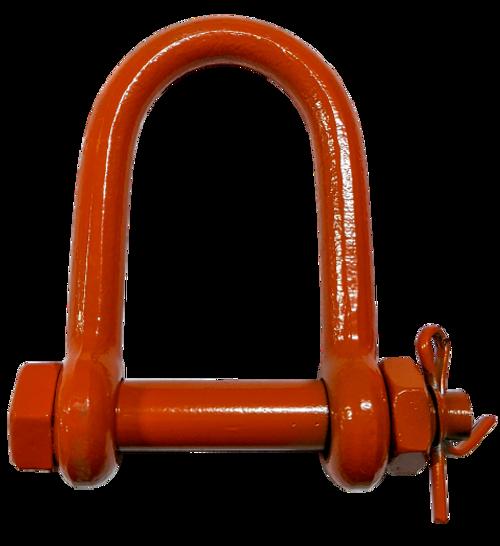 Shackle - Long Reach Bolt Type, 3/4 inch
