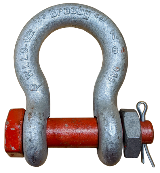 Shackle - Crosby® Bolt Type, 1 inch
