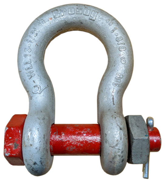 Shackle - Crosby® Bolt Type, 1-3/8 inch