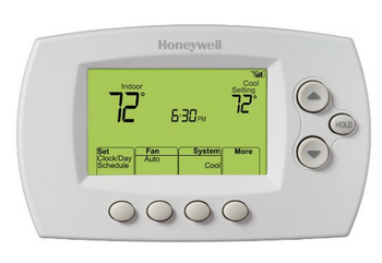 Honeywell RTH6580WF Wi-Fi 7-Day Programmable Thermostat, Works with Alexa