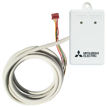 Mitsubishi Ductless Wi-Fi Interface Adapter for Kumo Cloud (PAC-WHS01WF-E)