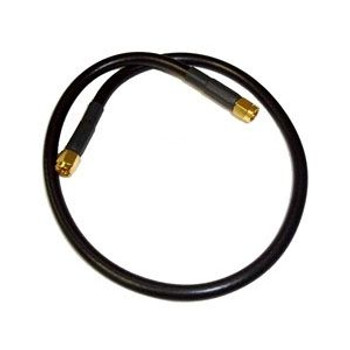 1 ft RG-178 RP SMA Male to RP SMA Male Cable