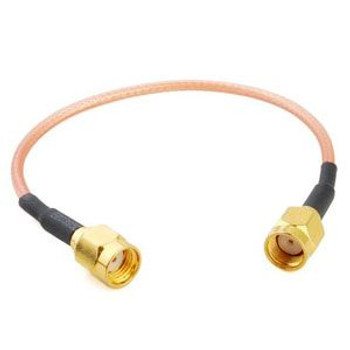 1 ft 100 series Cable with RP-SMA Male to RP-SMA Male Connectors