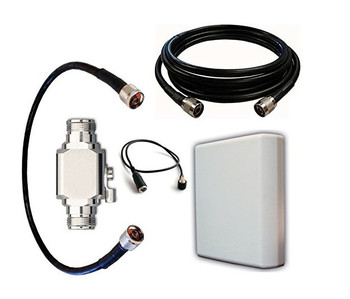 50 ft Panel Antenna Kit for Verizon 4G LTE Network Extender for Enterprise