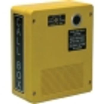 GAI-Tronics Weatherproof UHF Pushbutton RF Call Box, Yellow