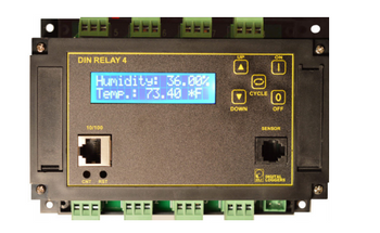 Digital Loggers DIN4 Web Controlled DIN Relay