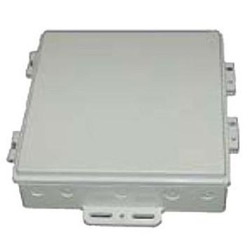 "Laird Technologies DCE10-H-001, 10"" x 10"" Die-Cast Enclosure  with Aluminum Door"