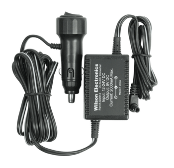 DC/DC Vehicle Power Adapter 6V/2A with DC Jack