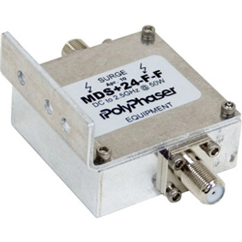 PolyPhaser MDS+24-F-F 300MHz-2.5GHz 24Vdc 75ohm, NF-NF