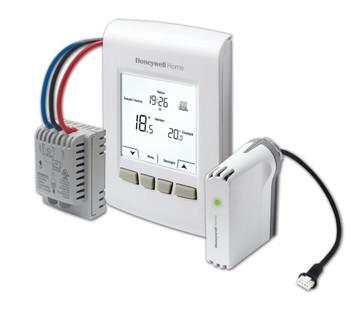 Honeywell YTA7210-AR-SPK Wireless Programmable/Non-programmable Thermostat Kit