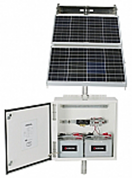Pre-packaged 80W, 99AH, 24V Solar System