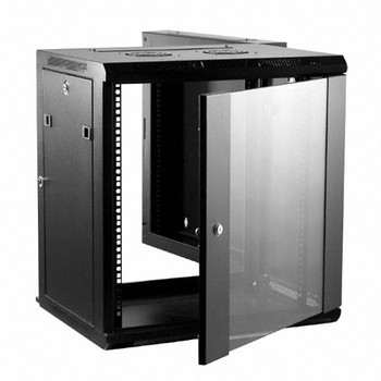 "12U Wall Mount Cabinet - 19"" x 21"" Panel Space"