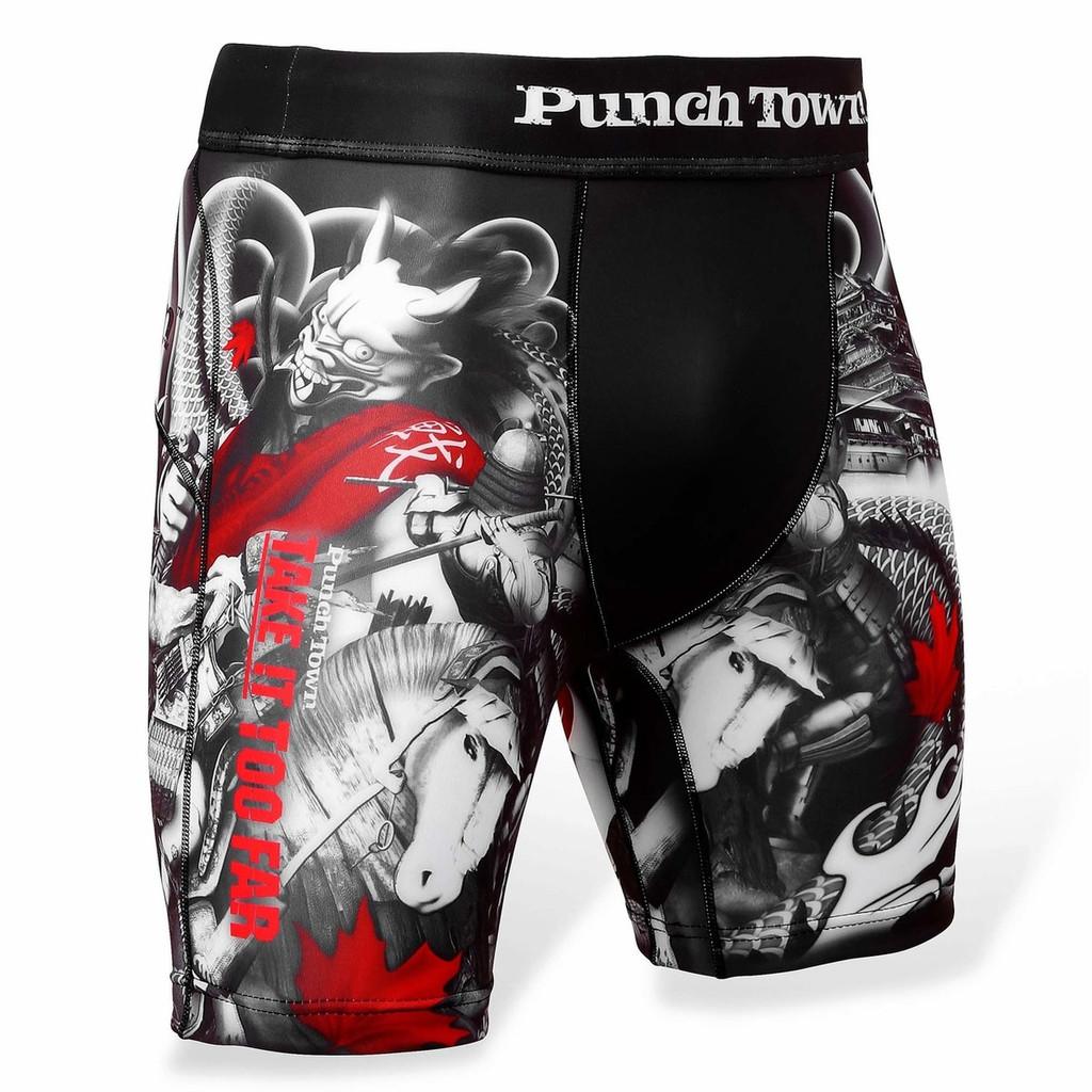 PunchTown Oni Battle Vale Tudo Shorts