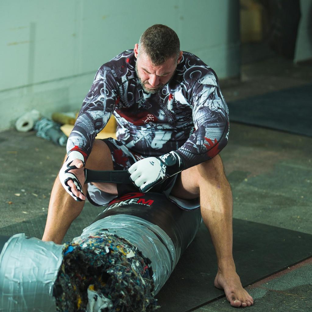 PunchTown Oni Battle Fight Shorts