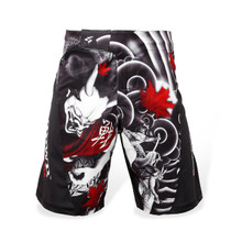 PunchTown Oni Battle Fight Shorts