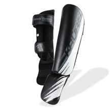 PunchTown Kruris eX MK2 Shin Guards B/G/W