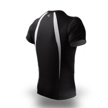 PunchTown Carbon Short Sleeve Rash Guard
