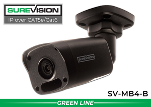 SPECIAL OFFER SUREVISION 4MP Mini Fixed Bullet Network Camera - Black