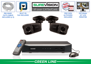 SureVision Complete 2 IP Camera System with 4 Channel NVR / 2IPMB4-B