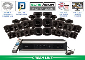 SureVision Complete 16 IP Camera System / 16IPMB4-B
