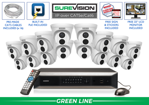 SureVision Complete 16 IP Camera System / 16IPTD4