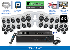 EXTREME Series Complete 32 IP Camera System / 32NVRMIC8
