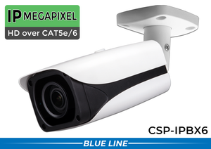 6MP Long Range IR Bullet / License Plate Camera with 7-35mm Lens and Infrared Night Vision