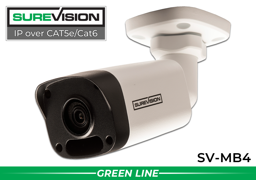 SUREVISION™ 4MP Mini Fixed Bullet Network Camera