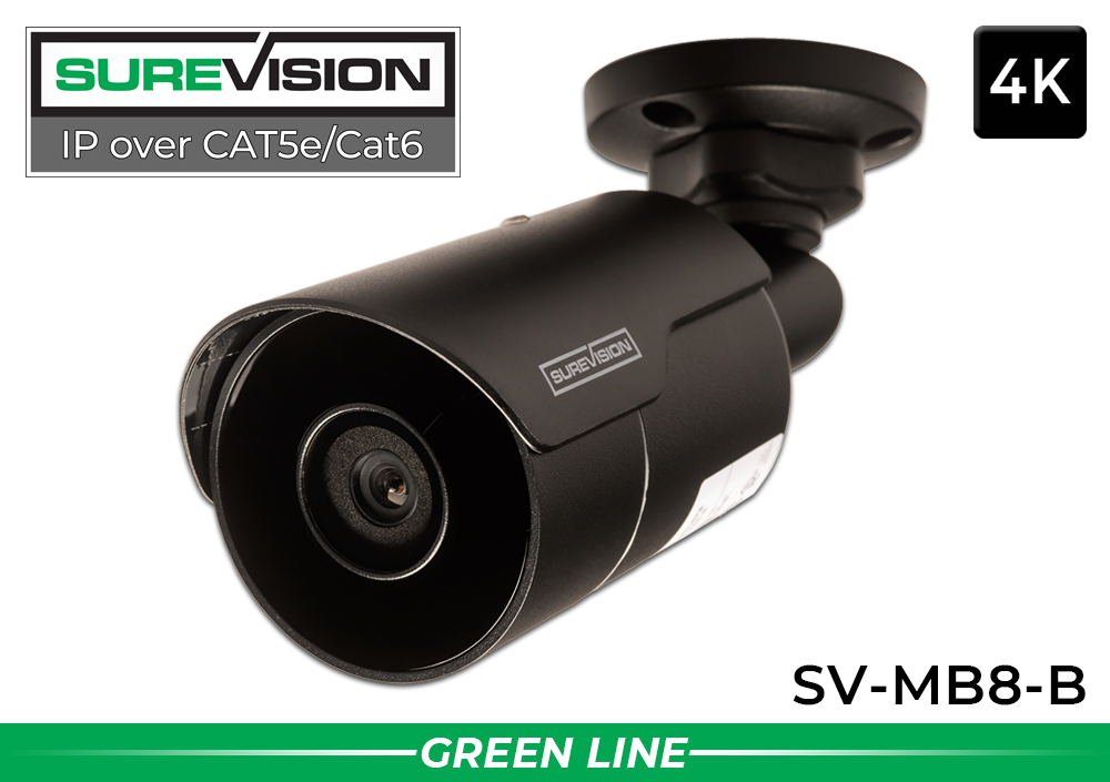 SUREVISION 4K Mini Fixed Bullet Network Camera
