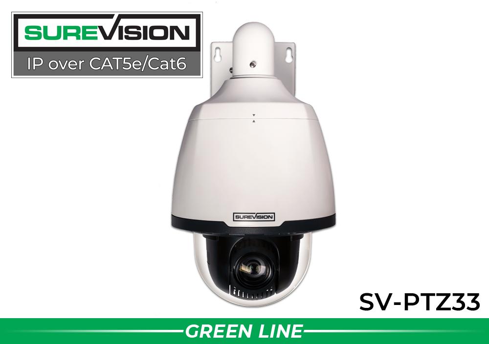 SUREVISION 2MP 33x StarlightNetwork PTZ Dome Camera