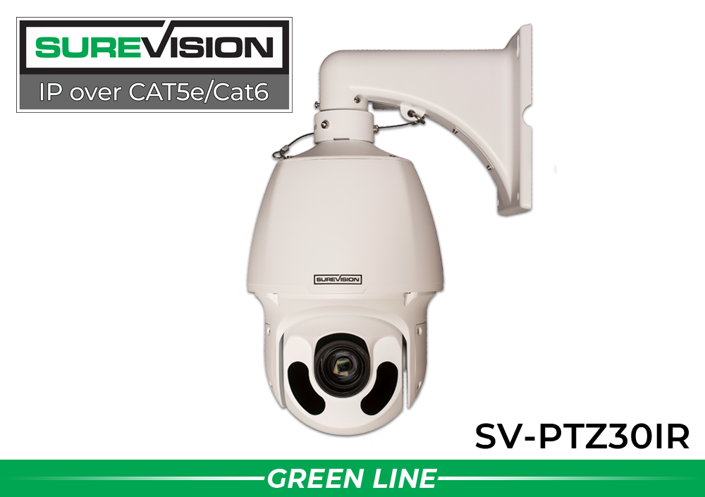 SUREVISION 2MP 30x IR Network PTZ Dome Camera