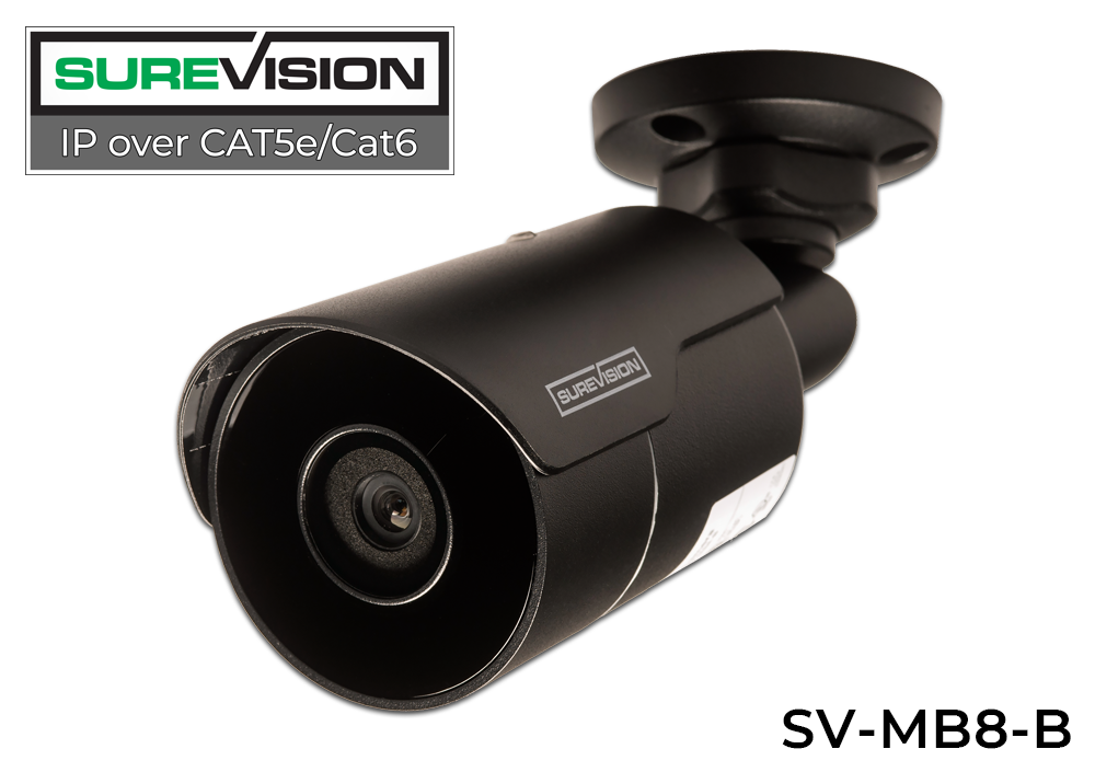 (FEATURED 4K COMPLETE SYSTEM!) SUREVISION 8 Camera 4K Complete Indoor/Outdoor Bullet IP System