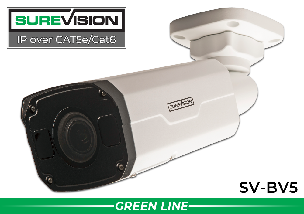 SureVision Complete 4 IP Camera System with Free Upgrade to 8 Channel NVR / 4IPBV5