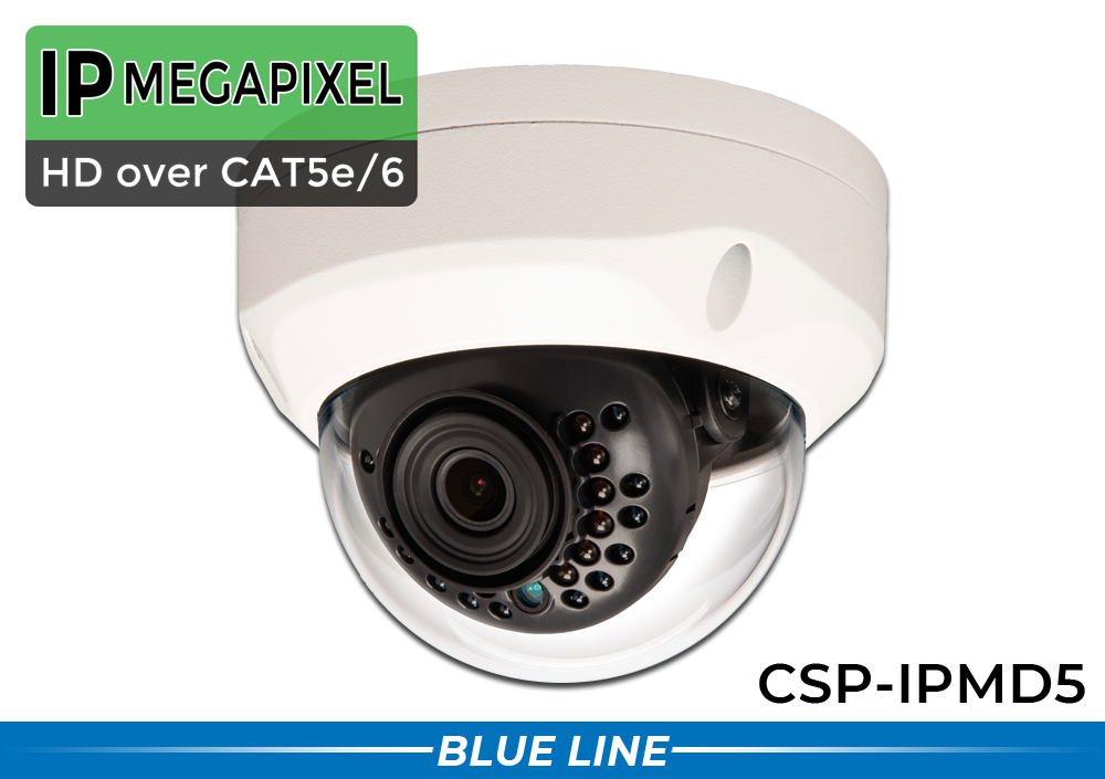 4MP IP SUPER HD In/Outdoor IR Vandal Dome Security Camera with 2.8mm Wide Angle Lens