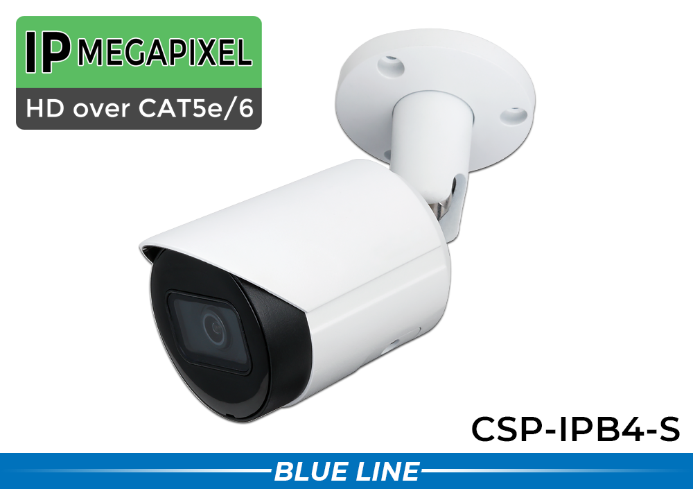 IP Security Camera System with 4MP Infrared Bullet Cameras / 8POEB4-S