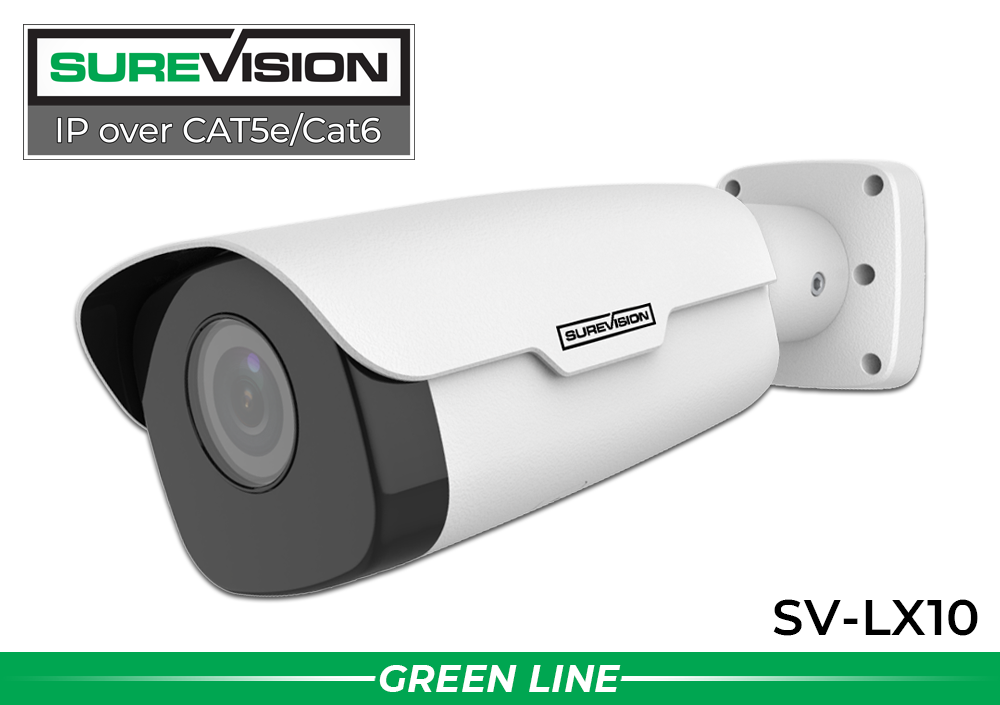"328 Foot Night Vision ""LONG RANGER"" 2 Megapixel IP POE Infrared Bullet Camera with WDR"