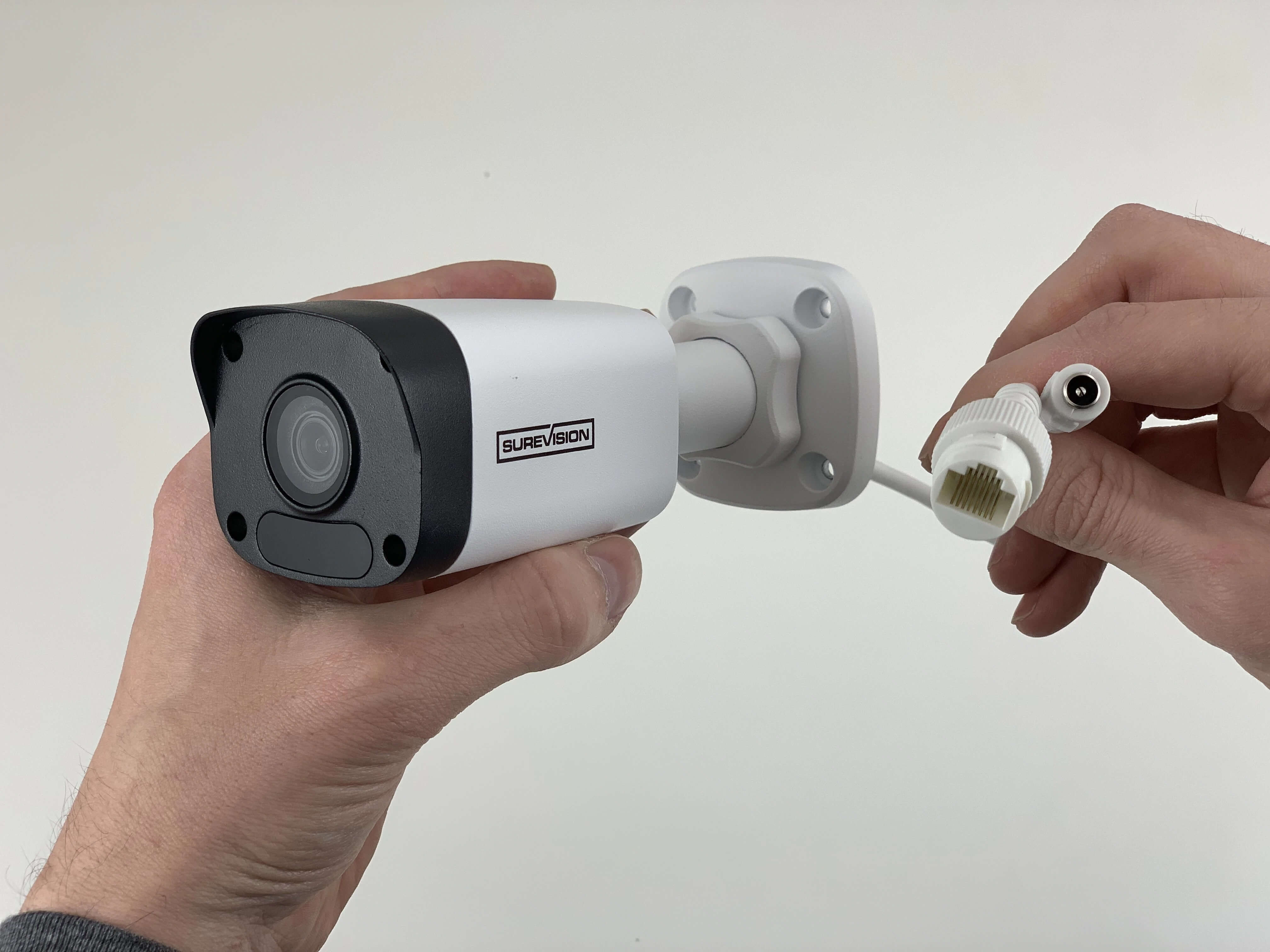 4K 8MP Mini Fixed Bullet Network Camera