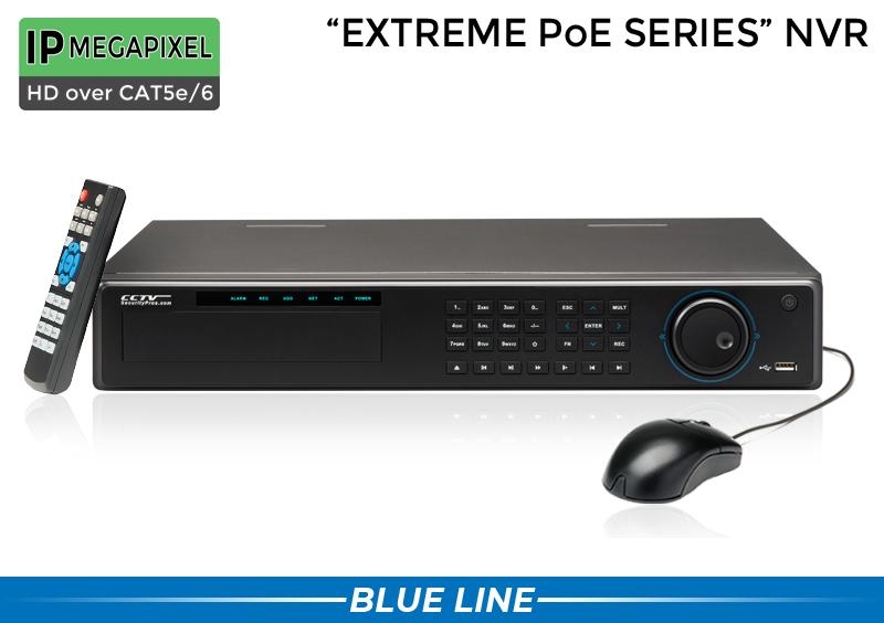 Complete 32 Camera 4K Commercial IP Camera System / 32NVRMX8-S