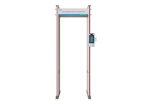 Digital Temperature and Metal Detector Security Gate